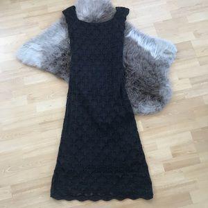 Dresses & Skirts - Black Scallop Lace Maxi Dress